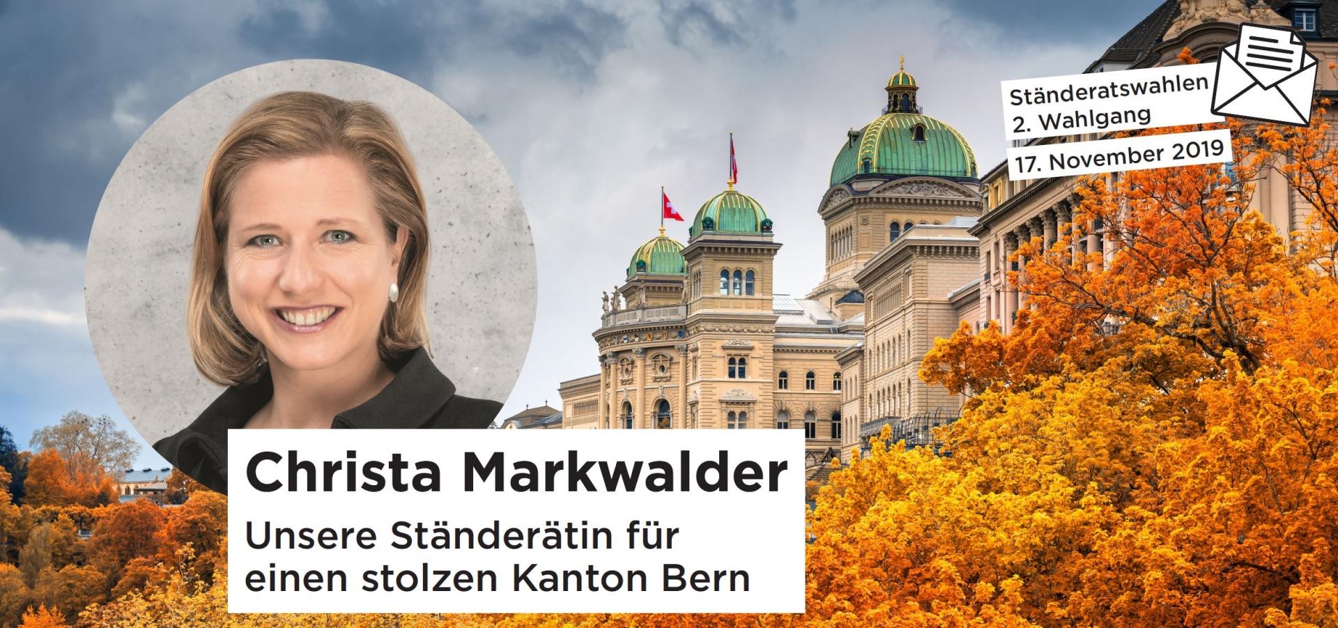 Ständeratswahlen, 2. Wahlgang: 17. November