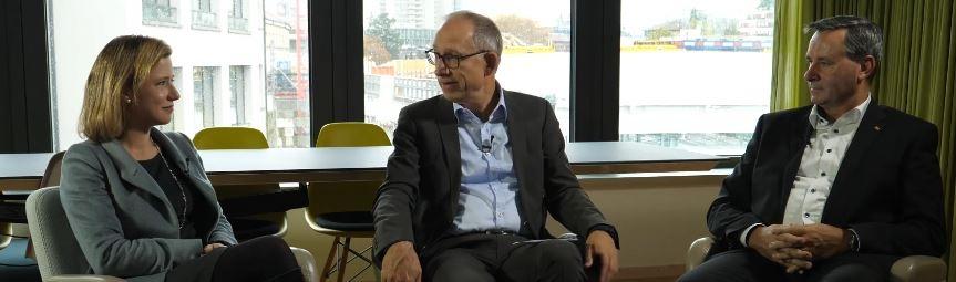 Interview des bürgerlichen Duos mit Reto Brennwald